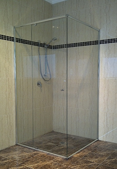 Semi Frameless Shower Screens Ad Capry