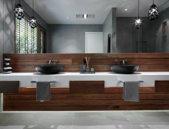Contemporary Bathroom Designs With Large Mirrors Ideas 1 Ad Capry